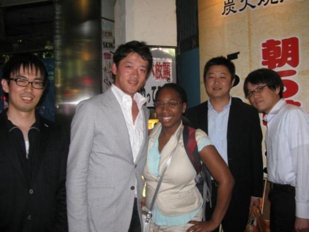 Stephanie Jones in Japan